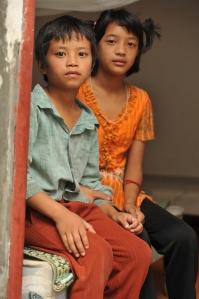 Kachin children